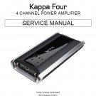 Infinity Kappa Four Service Manual