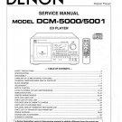 Denon DCM-5000 ,DCM-5001 CD Player Service Manual