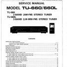 Denon TU-660 ,TU-660L Stereo Tuner Service Manual PDF