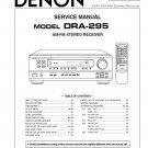 Denon DRA-295 Receiver Service Manual PDF