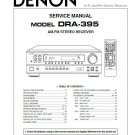 Denon DRA-395 Receiver Service Manual PDF