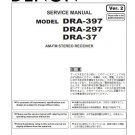 Denon DRA-397 ,DRA-297 ,DRA-37 Ver.2 Receiver Service Manual PDF