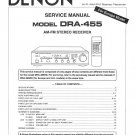 Denon DRA-455 Receiver Service Manual PDF