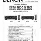 Denon DRA-545R ,DRA-345R Receiver Service Manual PDF