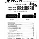Denon DRA-565RD ,DRA-365RD Receiver Service Manual PDF