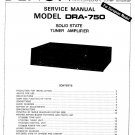 Denon DRA-750 Receiver Service Manual PDF