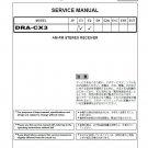 Denon DRA-CX3 Ver.4 Recceiver Service Manual PDF
