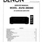 Denon AVC-3030 Surround Amplifier Service Manual PDF