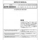 Denon AVR-5805CI Ver.2 Surround Amplifier Service Manual PDF
