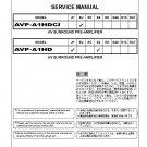 Denon AVP-A1HDCI ,AVP-A1HD Ver.4 Surround PreAmplifier Service Manual PDF