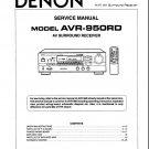 Denon AVR-950RD Surround Receiver Service Manual PDF