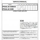 Denon POA-A1HDCI ,POA-A1HD Ver.10 Surround Receiver Service Manual PDF