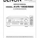 Denon AVR-1802 ,AVR-882 Surround Receiver Service Manual PDF