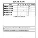 Denon AVR-1910 ,AVR-1620 ,AVR-1610 ,AVR-790 ,AVR-590 Ver.7 Surround Receiver Service Manual PDF