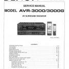 Denon AVR-3000 ,AVR-3000G Surround Receiver Service Manual PDF