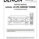 Denon AVR-3802 ,AVR-1082 Surround Receiver Service Manual PDF