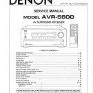 Denon AVR-5600 Surround Receiver Service Manual PDF
