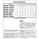 Denon AVR-1709_AVR-1609_AVR-1519_AVR-1509_AVR-689_AVR-589_AVC-1509 Ver.1 Receiver Service Manual PDF