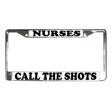 NURSES License Plate Frame Vehicle Heavy Duty Metal 12467264