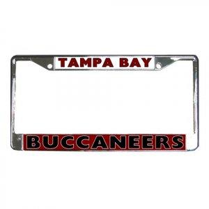TAMPA BAY BUCCANEERS License Plate Frame Vehicle Heavy Duty Metal 18586560