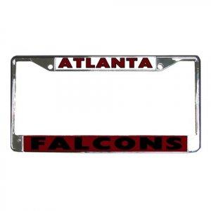 ATLANTA FALCONS License Plate Frame Vehicle Heavy Duty Metal 18586571