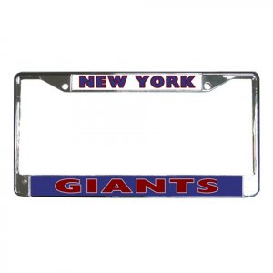 NEW YORK GIANTS License Plate Frame Vehicle Heavy Duty Metal 18586572