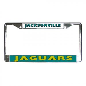 JACKSONVILLE JAGUARS License Plate Frame Vehicle Heavy Duty Metal 18586573