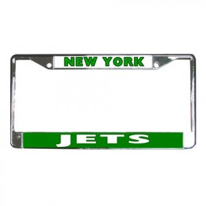 NEW YORK JETS License Plate Frame Vehicle Heavy Duty Metal 18586576