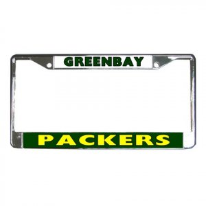 GREENBAY PACKERS License Plate Frame Vehicle Heavy Duty Metal 18591816