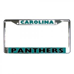 CAROLINA PANTHERS License Plate Frame Vehicle Heavy Duty Metal 18591929