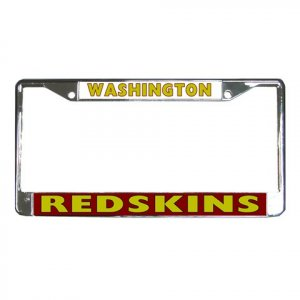 WASHINGTON REDSKINS License Plate Frame Vehicle Heavy Duty Metal 18592400