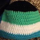 Color Block Hat: 0-6 months, 6-12 months, 12-18 months