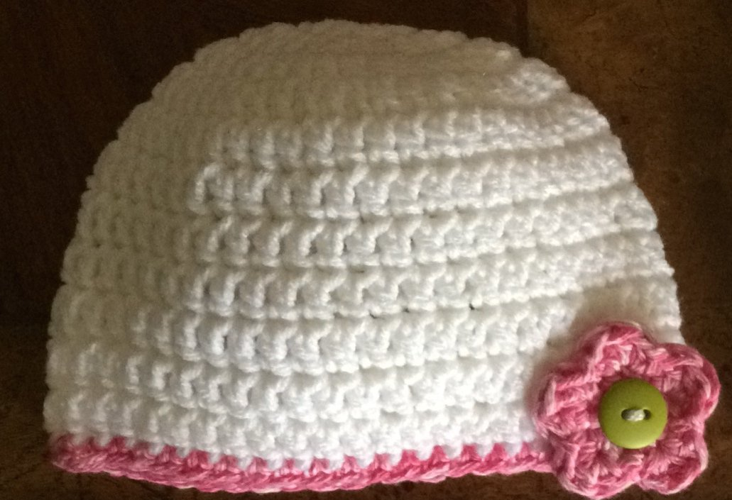 Flower Beanie: Youth Small, Youth Medium, Youth Large