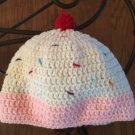 Ice Cream Sundae Beanie: Adult Small, Adult Medium, Adult Large