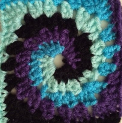 Tie Dye Spiral Coasters: Set of 4