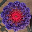 Trippy Flower Coasters: Set of 4