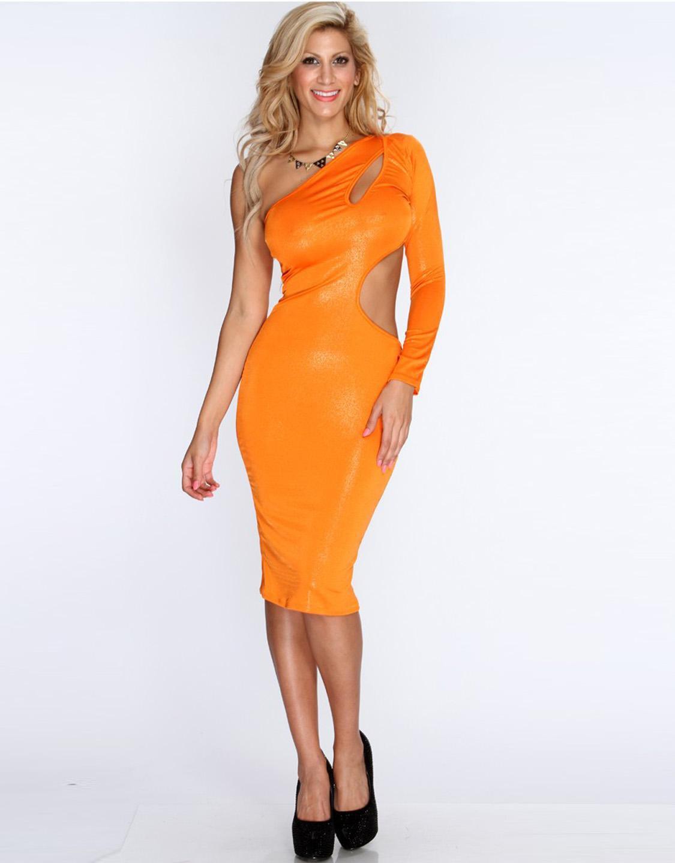 Spring One Shoulder Sexy Clubwear Women Summer Club Dress Skinny Bodycon Dresses