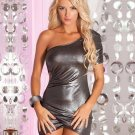 Hot sale Club Dress Ignition Ruched Sexy Women One Shoulder Mini Fashion Dress W84411