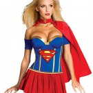 Halloween Supergirl Costumes Sexy Superwoman Fancy Dress Carnival Anime Movie Costume
