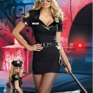 Hot sale Sexy Adult Dirty Cop Officer Anita Bribe Costume cosplay W418568