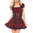 Dog Walker Costume Sexy Fairy Tale Mystique All Saints' Day Halloween Costume for Woman W408474