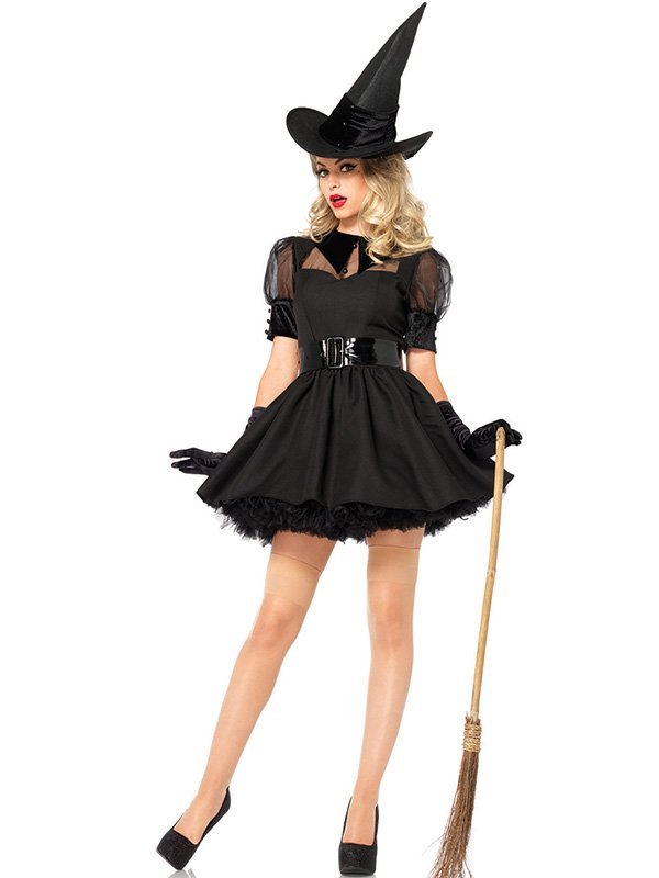 Plus Size XL and M Size ADULT BEWITCHING BEAUTY COSTUME W850869