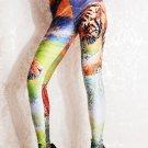 Hot Sale Spandex Fashion Digital Printing Tiger Sexy Leggings Pants WL029