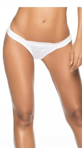 Thong Back Hot Fashion New White Color S-XL Size Women Swimming Trunks W3596B