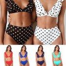 High Waist Bikini Women Swimwear Push Up Swimsuit Polka Dot Biquinis Beach Wear