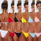 Hot Bikini Set Cheeky Thong String Brazilian Sexy Push Up Swimwear