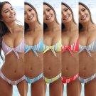Women Swimsuit Explosion Models Bikini Front Ties Bathing Suit EU USA Swimwear
