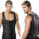 Men Gym Neoprene Latex Corset Body Shaper Sauna Sweat Thermal Belt Slimming Vest