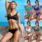 Brazilian Lift Wrap Bikini Top For Women Push-up Padded Swimwear Sport Beachwear