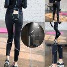 Womens Summer Workout Leggings Sport Running Tights Yoga Fitness Pants